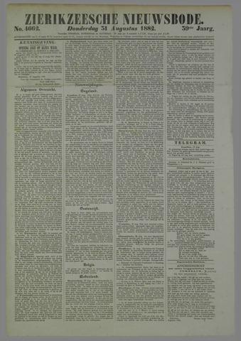 Zierikzeesche Nieuwsbode 1882-08-31