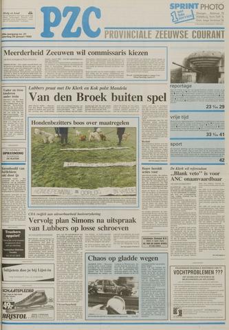 Provinciale Zeeuwse Courant 1992-01-25
