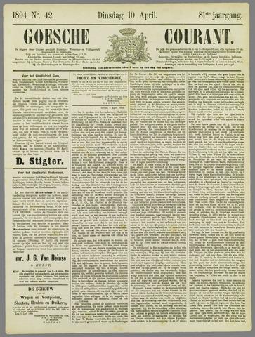 Goessche Courant 1894-04-10