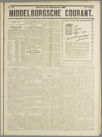 Middelburgsche Courant 1927-09-17