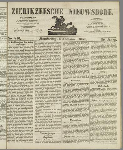 Zierikzeesche Nieuwsbode 1851-11-06