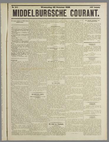 Middelburgsche Courant 1925-10-28