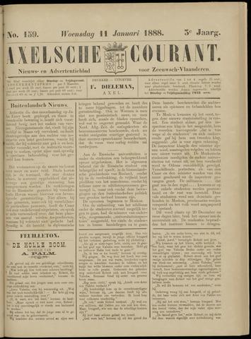 Axelsche Courant 1888-01-11