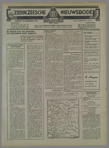 Zierikzeesche Nieuwsbode 1941-08-09