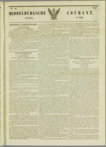 Middelburgsche Courant 1847-07-17
