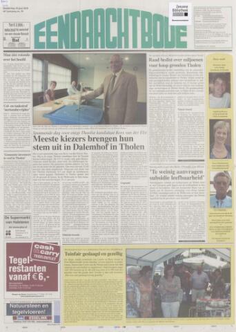 Eendrachtbode (1945-heden)/Mededeelingenblad voor het eiland Tholen (1944/45) 2010-06-10