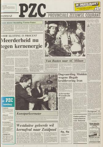 Provinciale Zeeuwse Courant 1987-04-24