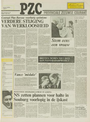 Provinciale Zeeuwse Courant 1977-04-01