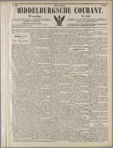 Middelburgsche Courant 1903-07-15