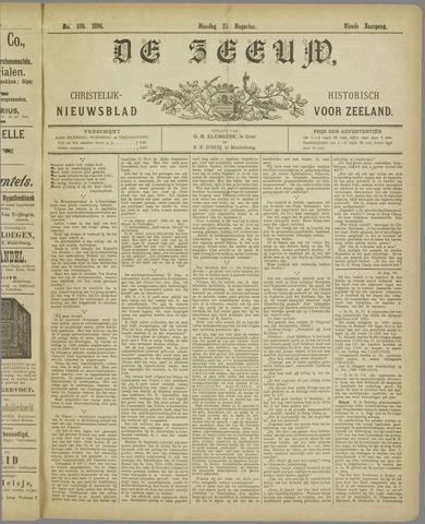 De Zeeuw. Christelijk-historisch nieuwsblad voor Zeeland 1896-08-25