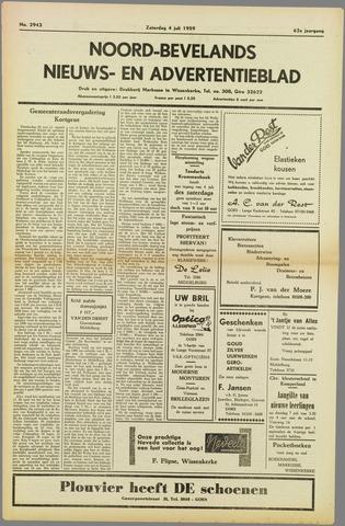 Noord-Bevelands Nieuws- en advertentieblad 1959-07-04