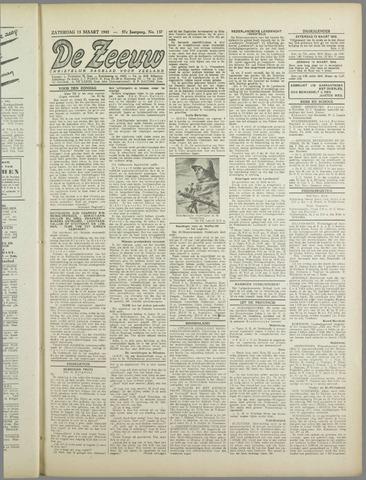 De Zeeuw. Christelijk-historisch nieuwsblad voor Zeeland 1943-03-13