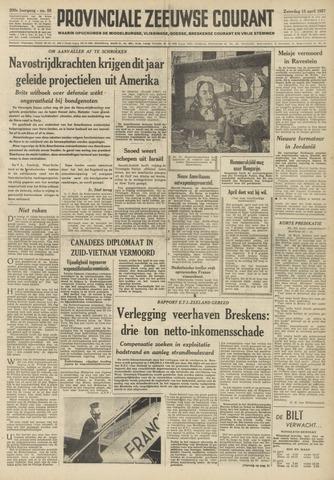 Provinciale Zeeuwse Courant 1957-04-13