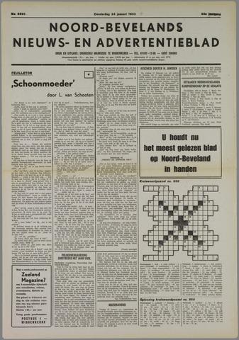 Noord-Bevelands Nieuws- en advertentieblad 1980-01-24