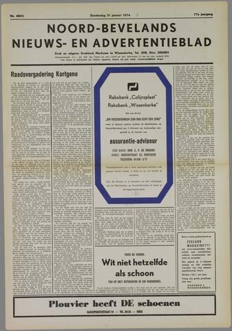 Noord-Bevelands Nieuws- en advertentieblad 1974-01-31