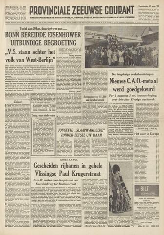 Provinciale Zeeuwse Courant 1959-08-27