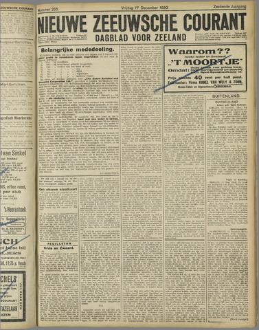 Nieuwe Zeeuwsche Courant 1920-12-17