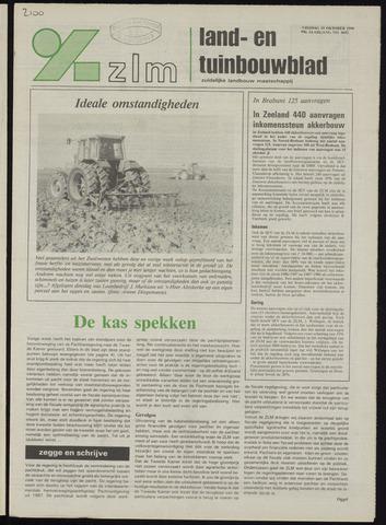Zeeuwsch landbouwblad ... ZLM land- en tuinbouwblad 1990-10-19