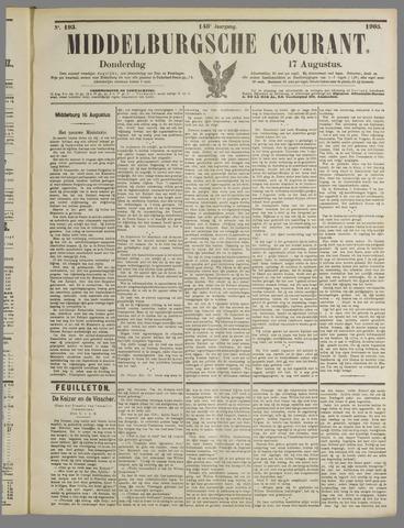 Middelburgsche Courant 1905-08-17