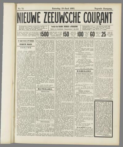 Nieuwe Zeeuwsche Courant 1913-06-28