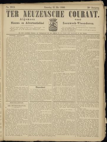 Ter Neuzensche Courant. Algemeen Nieuws- en Advertentieblad voor Zeeuwsch-Vlaanderen / Neuzensche Courant ... (idem) / (Algemeen) nieuws en advertentieblad voor Zeeuwsch-Vlaanderen 1890-05-31