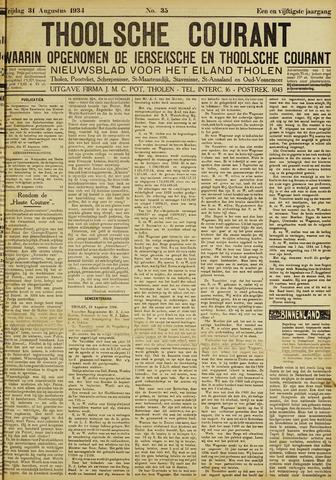 Ierseksche en Thoolsche Courant 1934-08-31