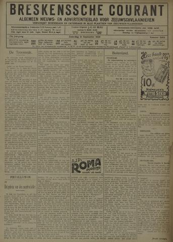 Breskensche Courant 1929-09-21