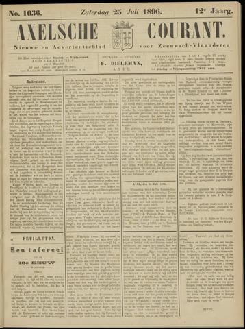 Axelsche Courant 1896-07-25