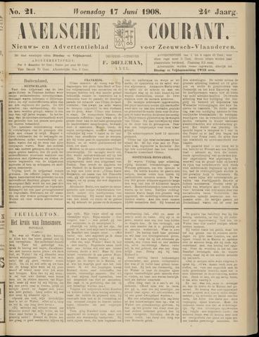 Axelsche Courant 1908-06-17