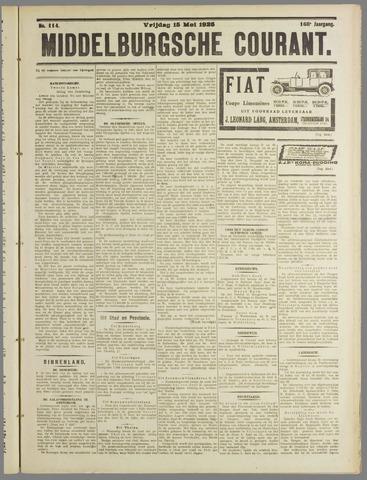 Middelburgsche Courant 1925-05-15