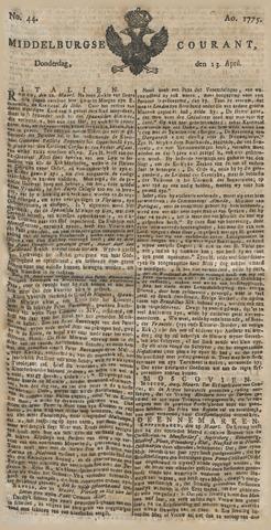 Middelburgsche Courant 1775-04-13