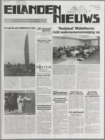 Eilanden-nieuws. Christelijk streekblad op gereformeerde grondslag 2000-04-04