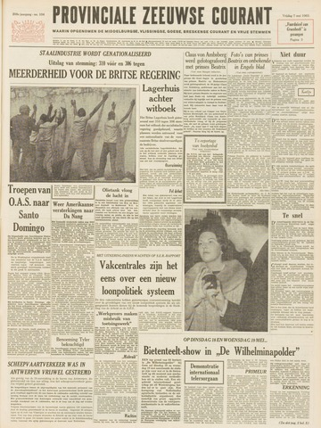 Provinciale Zeeuwse Courant 1965-05-07