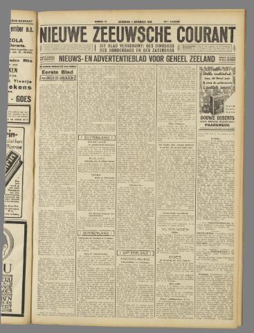 Nieuwe Zeeuwsche Courant 1933-11-04