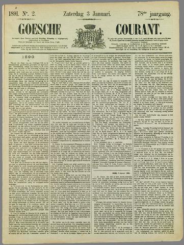 Goessche Courant 1891-01-03