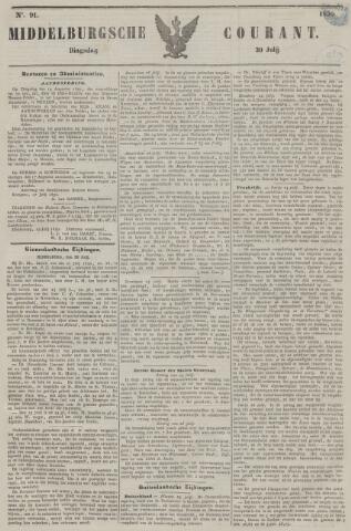 Middelburgsche Courant 1850-07-30