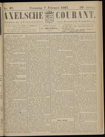 Axelsche Courant 1917-02-07