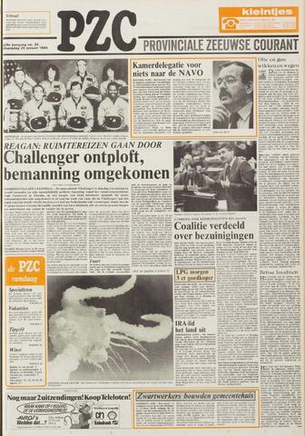 Provinciale Zeeuwse Courant 1986-01-29