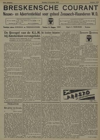 Breskensche Courant 1938-11-15