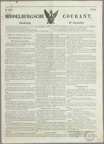 Middelburgsche Courant 1859-09-29