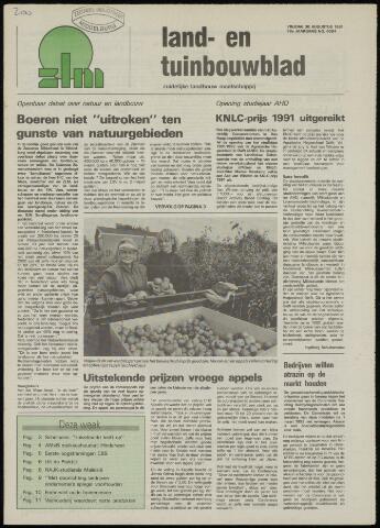 Zeeuwsch landbouwblad ... ZLM land- en tuinbouwblad 1991-08-30