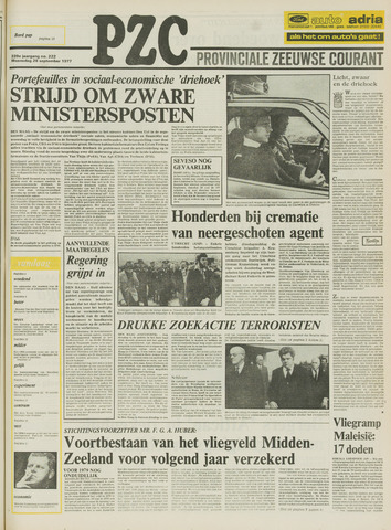 Provinciale Zeeuwse Courant 1977-09-28