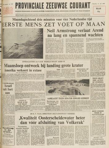 Provinciale Zeeuwse Courant 1969-07-21