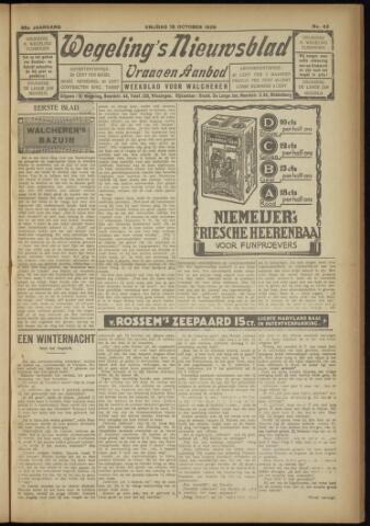Zeeuwsch Nieuwsblad/Wegeling's Nieuwsblad 1929-10-18
