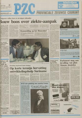 Provinciale Zeeuwse Courant 1991-11-16
