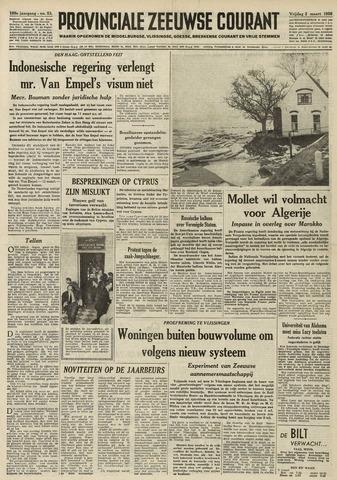 Provinciale Zeeuwse Courant 1956-03-02