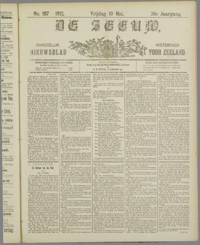 De Zeeuw. Christelijk-historisch nieuwsblad voor Zeeland 1912-05-10
