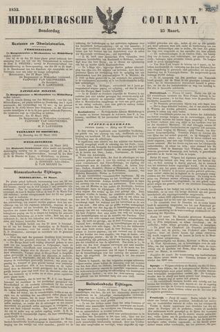 Middelburgsche Courant 1852-03-25