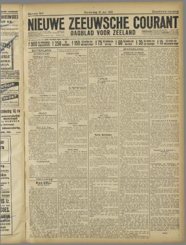 Nieuwe Zeeuwsche Courant 1921-07-21