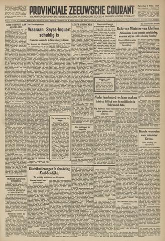 Provinciale Zeeuwse Courant 1946-02-09